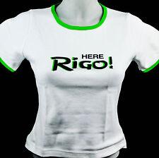 """Bacardi Rum T-Shirt Women, weiß, Gr. M mit Rund-Ausschnitt """"Rigo"""""""