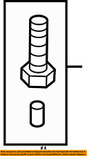 FORD OEM 07-10 Explorer Sport Trac 4.0L-V6 Transmission-Plug 6L2Z7A010AA