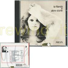 """MILVA """"LA FILANDA E ALTRE STORIE"""" CD 1999 FUORI CATALOGO"""