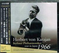 Mozart R.Strauss Karajan Berliner Philharmoniker tour in Japan 1966 CD w/OBI NEW
