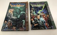 StormWatch Force of Nature & A Finer World TPB Lot DC/Wildstorm 1999 Storm Watch