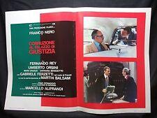 FOTOBUSTA CINEMA - CORRUZIONE AL PALAZZO DI GIUSTIZIA - FRANCO NERO - 1975 - 10