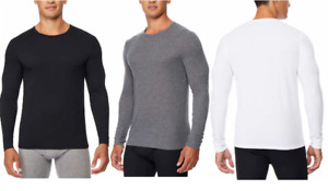 NEW!! 32 Degrees Heat Men's 2-Pack Long Sleeve Crew Neck Shirts Variety #460