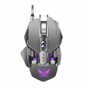Gaming Mouse Mechanical Mice 3200dpi 7 Programmables Buttons Led Over Watch Uses