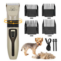 Pet Dog Cat Hair Clipper Grooming Kit Cutting Machine Electric Trimmer Shaver