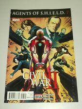 AGENTS OF S.H.I.E.L.D. SHIELD #7 MARVEL COMICS CIVIL WAR II