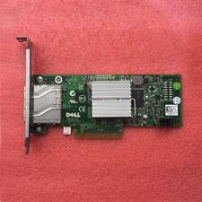 Dell H200E 6Gb/s SAS PCIe HBA 2 Port Ext SFF-8088 12DNW LSISAS2008=LSI 9200-8E