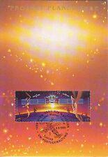 Vereinte Nationen UNO Wien 1992: Maximumkarte FDC  Projekt Planet Erde