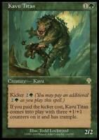Kavu Titan - Invasion - NM, English MTG Magic FLAT RATE SHIP