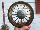 """Vintage Original South Bend Baby Carriage Buggy Wheel 6"""" Round"""