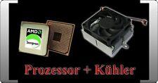 AMD SEMPRON 3100+ PROZESSOR + KÜHLER AMD SOCKEL 754 1,8 GHZ FSB 1600 3100 + TOP