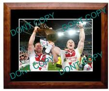 HORNBY & CREAGH St GEORGE DRAGONS PREMIERS A3 PHOTO