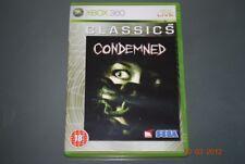 Condemned Xbox 360 UK Pal (Classics) Jugable Encendido Xbox 1