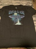 Game Of Thrones Night King - Winter Is Here T Shirt Mens Large Funko Pop Shirt
