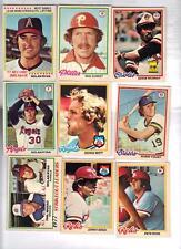 1978 O-Pee-Chee OPC Baseball Almost Complete Set (239/242) NRMT