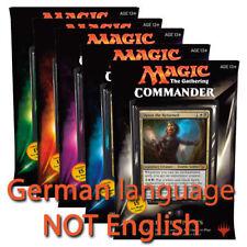 GERMAN Magic MTG 2015 Commander C15 Sealed Deck Complete Box Set the Gathering
