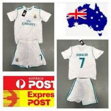 Ronaldo's Real Madrid Jersey Set White Color
