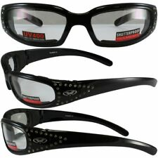 3 Womens Sunglasses 2 Marilyn-3  Smoke & Clear Lens 1 Chicago Rose Mirrored Lens