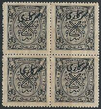 Territory Indian Stamp Blocks (Pre-1947)