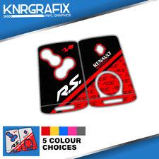 KNR0022 CLIO MK4 RS RENAULT - MEGANE MK3 KEYFOB SKIN - KEY STICKER - 5 CHOICES