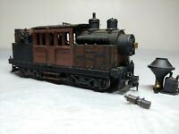 Vintage HO Scale Roundhouse model diecast co. steam engine Climax