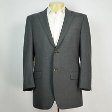 Recent Mint CANALI Super 120's Wool Sharkskin Gray Blazer Sport Coat Sz 38R