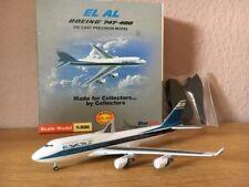 StarJets 1:500 EL AL Boeing 747-400 in OVP