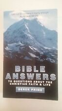 Bible Answers to Questions about Christian Faith & Life, D Prime, paperback 2011