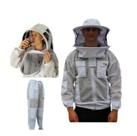 OZ ARMOUR BEEKEEPING JACKET &  TROUSERS SUIT FOR BIG & STOUTS VENTILATED