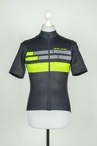 Mens Pearl Izumi Cycling Black Jersey Full Zip Size S