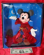 Disney Mickey Mouse Sorcerer's Apprentice Fantasia 2000 Doll Figure Mattel NEW