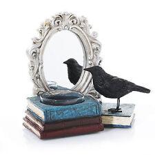 Yankee Candle Raven MIRROR MIRROR Halloween Spellbound Tea Light Holder Crow NIB