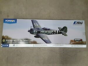 E-flite Focke-Wulf Fw 190A 1.5m BNF Basic Electric Airplane (1511mm) w/AS3X New!