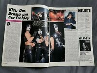 KISS  ARTIKEL KISS:DAS DRAMA UM ACE FREHLEY  'RAR'