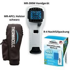 ThermaCell Mückenschutz Handgerät MR-300W weiß + Holster schwarz + R-4 Nachfüllp