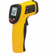 Infrarot Digital IR Thermometer mit Laser -50°C ~380°C Pyrometer Messgerät TE033
