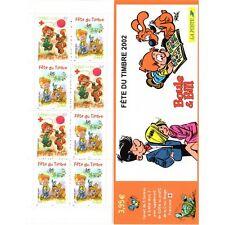 Bande Carnet BC3467A - Fête du timbre - Boule & Bill - 2002