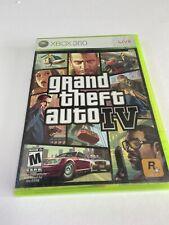 Grand Theft Auto Iv / Gta 4 (Microsoft Xbox 360) *Includes Manual And Map* Cib