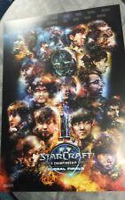 BlizzCon 2017 Starcraft 2 Pro players print 14x20