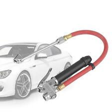 Car Air Tire Pressure Filler Fill Inflator Gauge Chuck Air Compressor Hose Tool