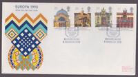Great Britain 1990 FDC Cover Europa Architecture Edinburgh Philatelic Bureau