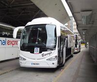 Barry's Coaches, Weymouth YN12BCV 6x4 Quality National Express Bus Photo