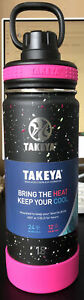 Takeya Actives Insulated Stainless Steel Water Bottle w/ Spout Lid, 18 oz