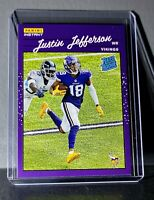 Justin Jefferson 2020 Panini NFL Rated Rookie Retro #9 Football Card 1/2044