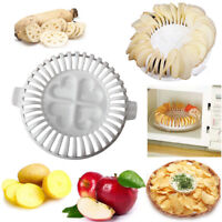DIY Low Calories Microwave Oven Fat Free Potato Chips Slicer Snack Maker Home