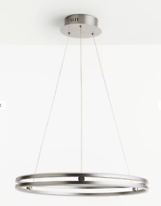 John Lewis & Partners No.209 Wheel LED Ceiling Light, Matt Nickel RRP £375