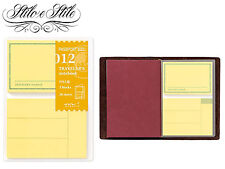 Midori Sticky Notes | Refill Midori 012 | Traveler's Notebook Passport Size PP