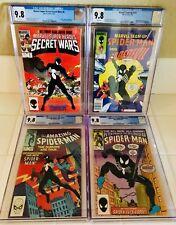 ALL CGC 9.8 SPIDER-MAN _ MARVEL TEAM UP _ SECRET WARS _ SPECTACULAR SPIDER-MAN