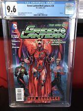 Green Lantern 28, DC 2014, CGC 9.6, 1st Red Lantern Supergirl