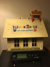 Vintage Fisher Price Play Family School